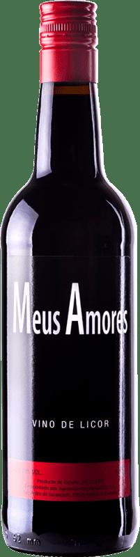 9,95 € Envío gratis | Vino generoso Tostado Meus Amores Galicia España Botella 75 cl