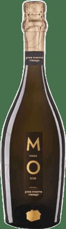 9,95 € Envoi gratuit | Blanc moussant Mo Masía d'Or Brut Nature Gran Reserva D.O. Cava Catalogne Espagne Bouteille 75 cl
