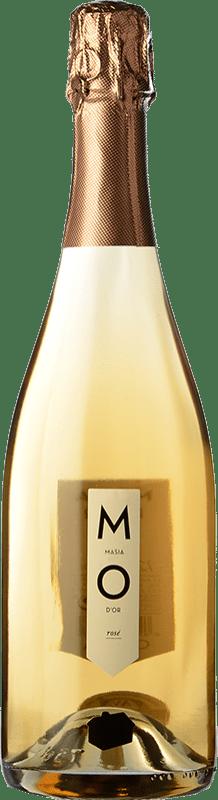 6,95 € | Rosé sparkling Mo Masía d'Or Rose Brut Joven D.O. Cava Catalonia Spain Bottle 75 cl