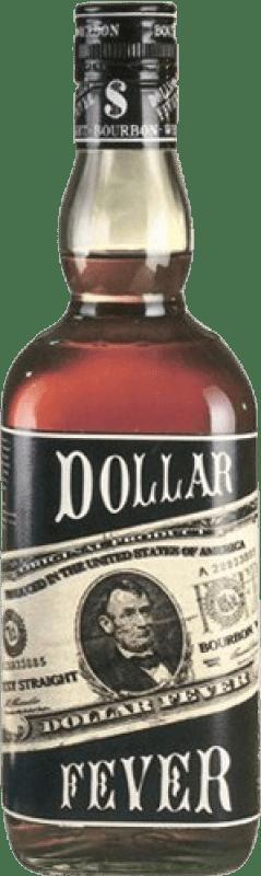 15,95 € Envío gratis   Bourbon Dollar Fever Estados Unidos Botella Misil 1 L