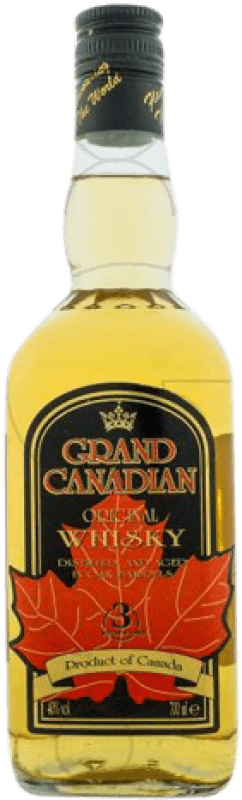 13,95 € Envoi gratuit | Whisky Blended Grand Canadian Canada Bouteille Missile 1 L