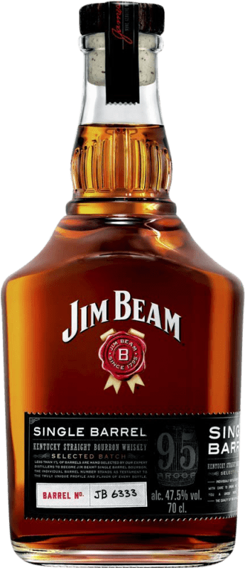 26,95 € Free Shipping | Whisky Blended Jim Beam Singel Barrel Reserva United States Bottle 75 cl