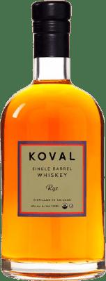 49,95 € Envoi gratuit | Whisky Blended Koval Rye Reserva Chicago États Unis Demi Bouteille 50 cl