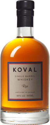 49,95 € Free Shipping | Whisky Blended Koval Rye Reserva Chicago United States Half Bottle 50 cl