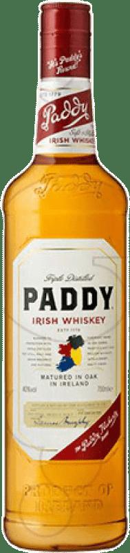 13,95 € Free Shipping | Whisky Blended Paddy Irish Whiskey Ireland Bottle 70 cl