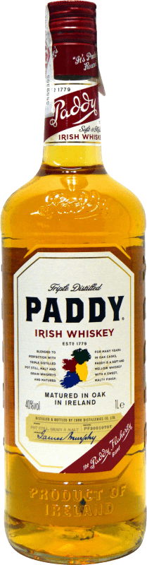 19,95 € Free Shipping | Whisky Blended Paddy Ireland Missile Bottle 1 L