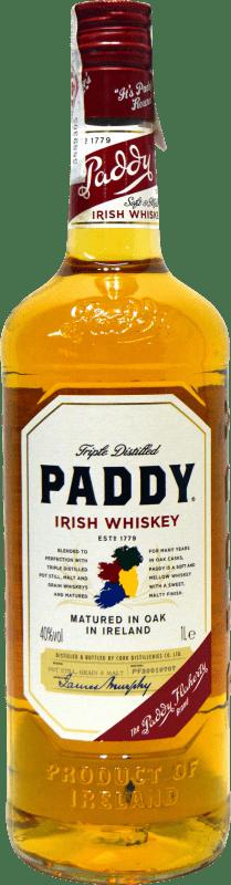 18,95 € Free Shipping | Whisky Blended Paddy Irish Whiskey Ireland Missile Bottle 1 L
