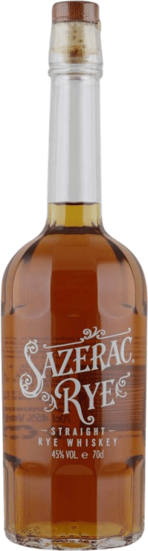 45,95 € Free Shipping | Whisky Blended Sazerac Rye Reserva United States Bottle 75 cl