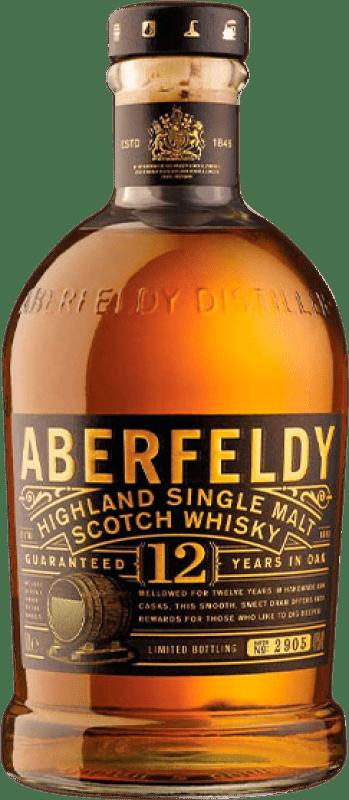 56,95 € 免费送货   威士忌单一麦芽威士忌 Aberfeldy 12 Años 英国 瓶子 70 cl