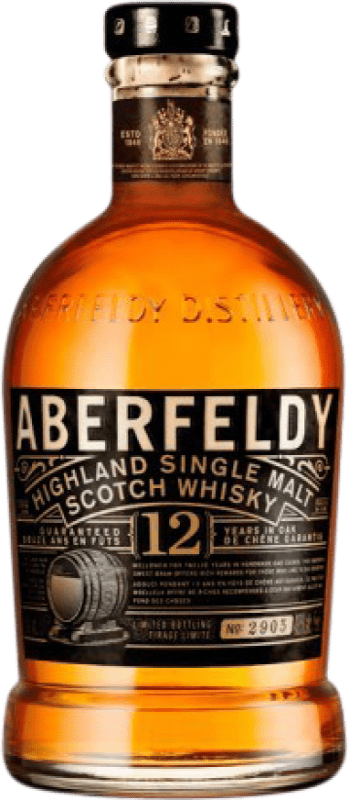 56,95 € Envío gratis | Whisky Single Malt Aberfeldy 12 Años Reino Unido Botella 70 cl