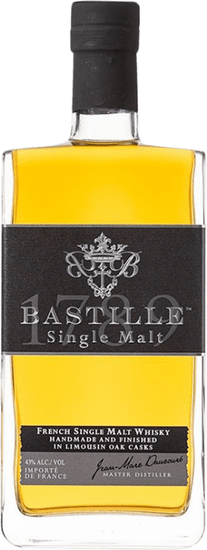 55,95 € | Whisky Single Malt Bastille Single Malt United Kingdom Bottle 70 cl