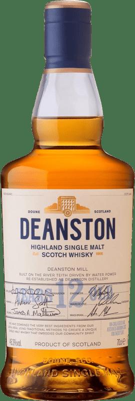 66,95 € Free Shipping | Whisky Single Malt Deanston 12 Años United Kingdom Bottle 70 cl