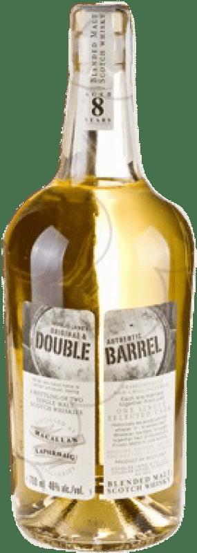 87,95 € Envío gratis | Whisky Single Malt Double Barrel Reino Unido Botella 70 cl
