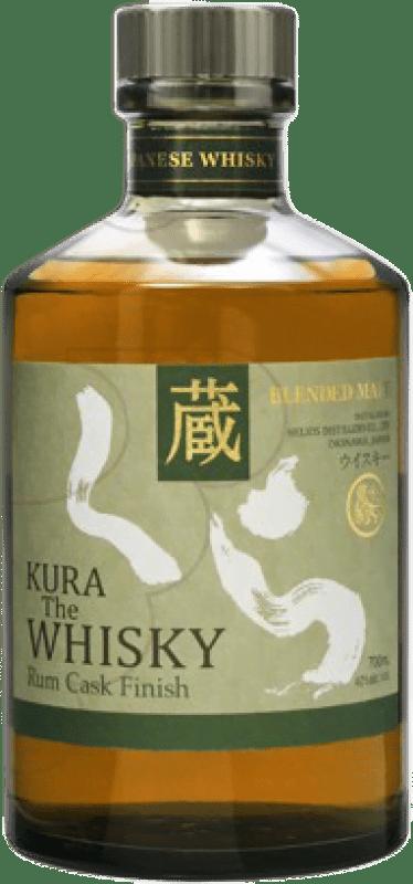 97,95 € Envío gratis | Whisky Single Malt Kura Rum Cask Finish Japón Botella 70 cl