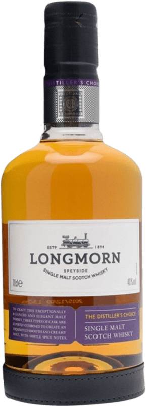 46,95 € | Whisky Single Malt Longmorn The Destiller's Choice United Kingdom Bottle 70 cl