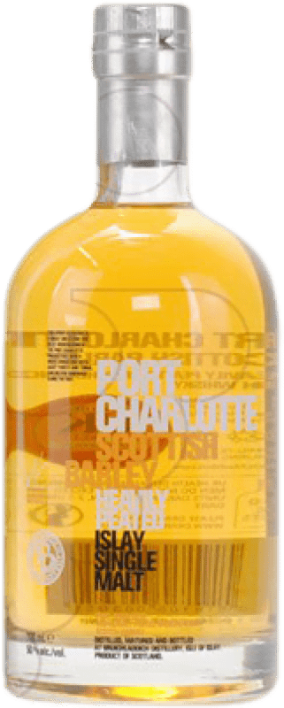 67,95 € | Whisky Single Malt Port Charlotte Scottish Barley United Kingdom Bottle 70 cl