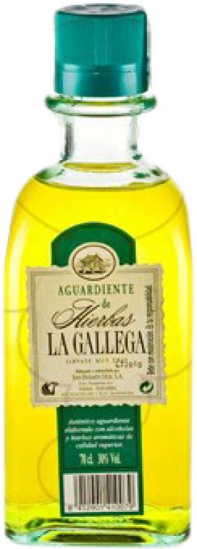 11,95 € Free Shipping | Herbal liqueur La Gallega Spain Bottle 70 cl