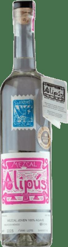 45,95 € 免费送货   梅斯卡尔酒 Alipús San Andrés 墨西哥 瓶子 70 cl