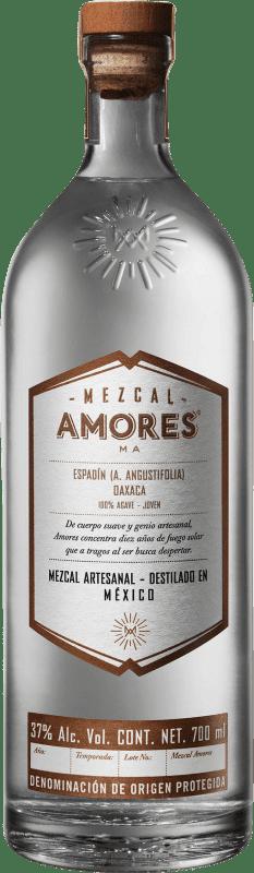 57,95 € 免费送货   梅斯卡尔酒 Amores Espadín 墨西哥 瓶子 70 cl