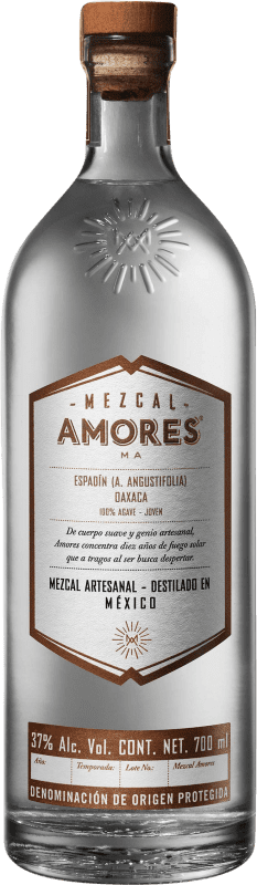 57,95 € Envoi gratuit | Mezcal Amores Espadín Mexique Bouteille 70 cl