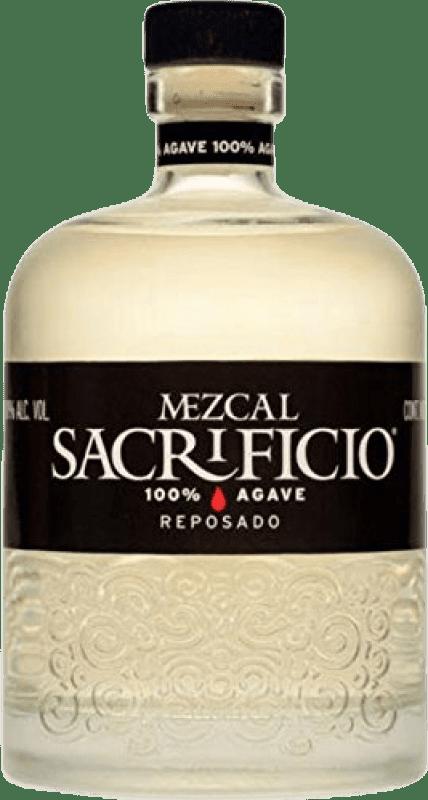 46,95 € Envío gratis | Mezcal Sacrificio Reposado Mexico Botella 70 cl