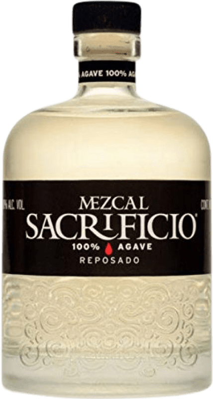 46,95 € Free Shipping | Mezcal Sacrificio Reposado Mexico Bottle 70 cl