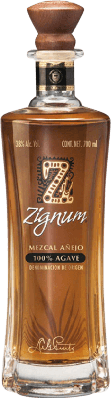 35,95 € Free Shipping | Mezcal Zignum Añejo Mexico Bottle 75 cl