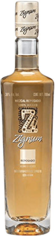25,95 € Envío gratis | Mezcal Zignum Reposado Mexico Botella 70 cl