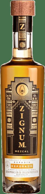 25,95 € Envoi gratuit | Mezcal Zignum Reposado Mexique Bouteille 70 cl