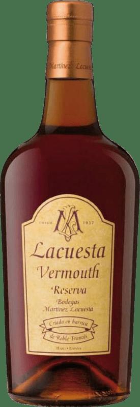 12,95 € Envío gratis | Vermut Lacuesta Reserva España Botella 75 cl