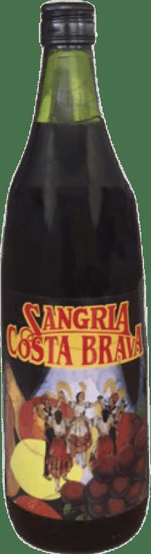 4,95 € Envío gratis | Sangría Costa Brava España Botella Misil 1 L
