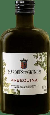 7,95 € 免费送货 | 食用油 Marqués de Griñón Arbequina 西班牙 Arbequina 半瓶 50 cl