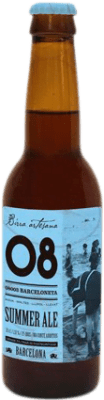 2,95 € | Beer Birra Artesana 08 Barceloneta Summer Ale Spain Botellín Tercio 33 cl