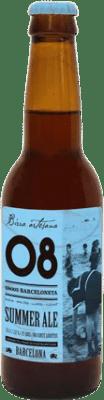 2,95 € 免费送货   啤酒 Birra Artesana 08 Barceloneta Summer Ale 西班牙 Botellín Tercio 33 cl