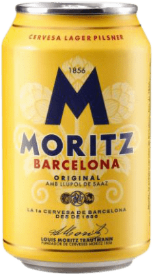 0,95 € Free Shipping | Beer Cervezas Moritz Spain Lata 33 cl