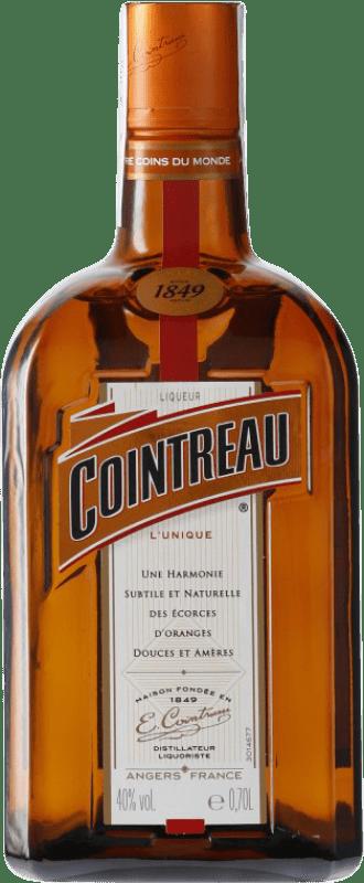16,95 € Envío gratis | Triple Seco Rémy Cointreau Francia Botella 70 cl