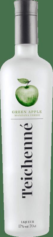 7,95 € 免费送货 | Schnapp Teichenne Manzana Verde 西班牙 瓶子 70 cl