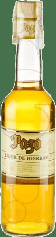 9,95 € Envío gratis | Licor de hierbas Viña Costeira Pazo España Botella 70 cl