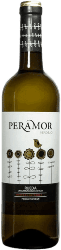 Free Shipping | White wine Copaboca Peramor D.O. Rueda Spain Verdejo Bottle 75 cl