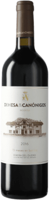 21,95 € Envoi gratuit | Vin rouge Dehesa de los Canónigos Crianza D.O. Ribera del Duero Espagne Tempranillo, Cabernet Sauvignon Bouteille 75 cl