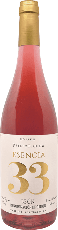 Envoi gratuit   Vin rose Meoriga Esencia 33 D.O. Tierra de León Espagne Prieto Picudo Bouteille 75 cl