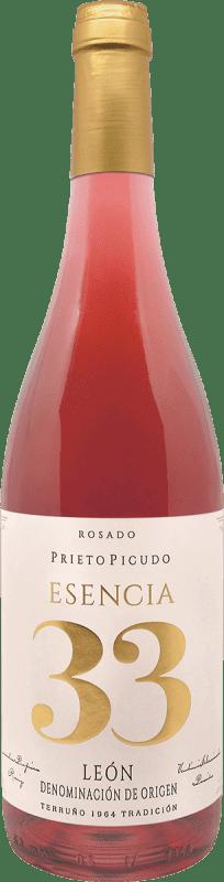 Envio grátis | Vinho rosé Meoriga Esencia 33 D.O. Tierra de León Espanha Prieto Picudo Garrafa 75 cl