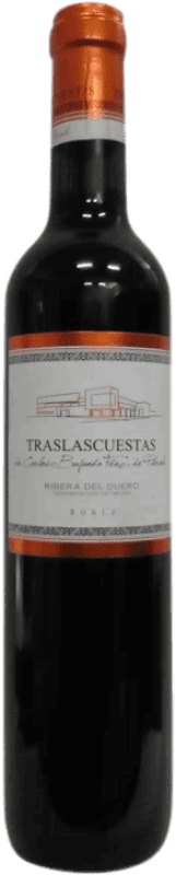 Free Shipping | Red wine Traslascuestas Joven D.O. Ribera del Duero Spain Tempranillo Half Bottle 50 cl