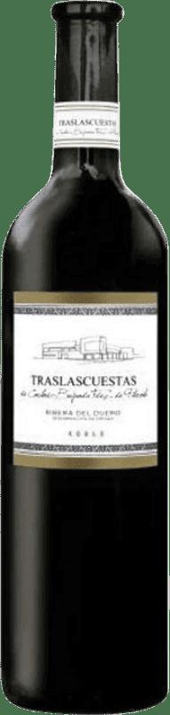 Envío gratis | Vino tinto Traslascuestas Joven D.O. Ribera del Duero España Tempranillo Botella Mágnum 1,5 L