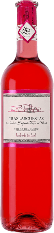 Envio grátis | Vinho rosé Traslascuestas D.O. Ribera del Duero Espanha Tempranillo Garrafa 75 cl