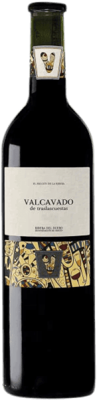 Red wine Traslascuestas Valcavado Reserva D.O. Ribera del Duero Spain Tempranillo Bottle 75 cl
