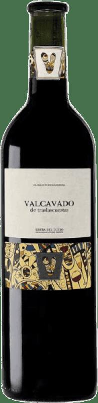 Envío gratis | Vino tinto Traslascuestas Valcavado Reserva D.O. Ribera del Duero España Tempranillo Botella 75 cl