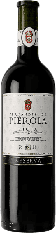 Free Shipping | Red wine Piérola Reserva D.O.Ca. Rioja Spain Tempranillo Bottle 75 cl