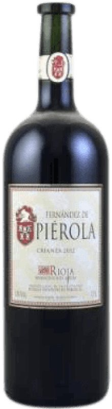 Envio grátis | Vinho tinto Piérola Crianza D.O.Ca. Rioja Espanha Tempranillo Garrafa Magnum 1,5 L