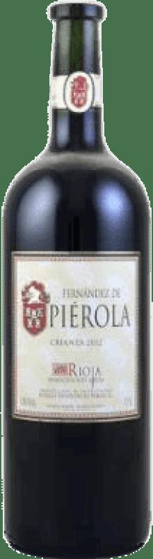 Envío gratis | Vino tinto Piérola Crianza D.O.Ca. Rioja España Tempranillo Botella Mágnum 1,5 L